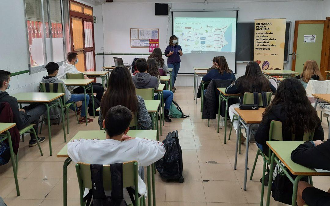 El IVAJ y EAPN Comunitat Valenciana acercarán a un millar de jóvenes a proyectos sociales para prevenir discursos de discriminación y aporofobia