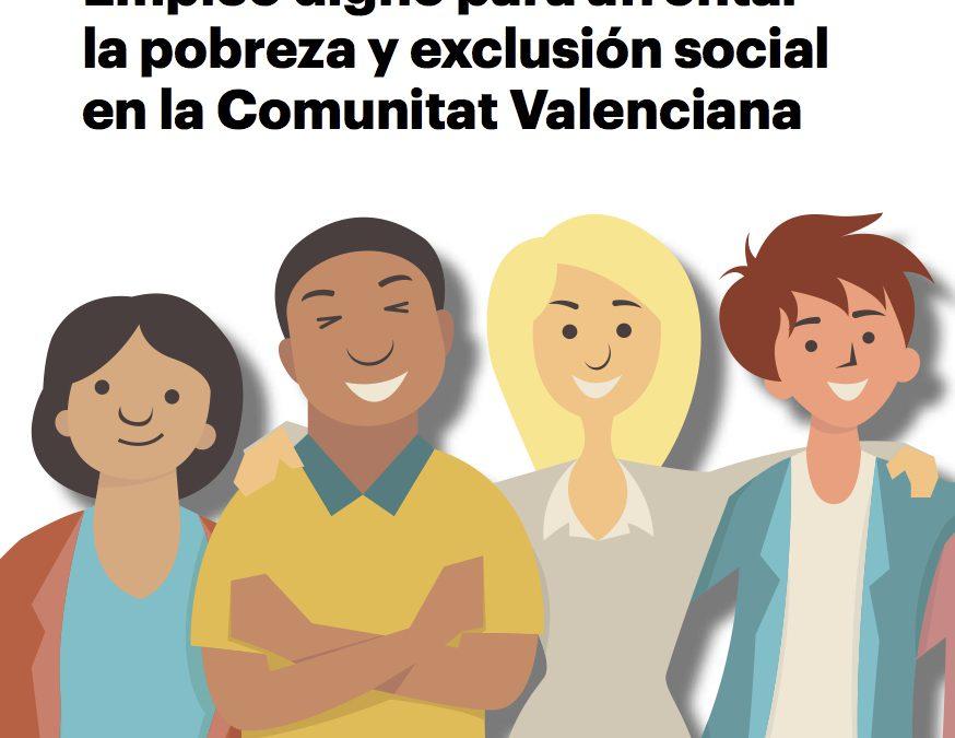 Más de un centenar de personas en situación de pobreza y exclusión debatirán con diputados y diputadas de Les Corts sobre empleo digno