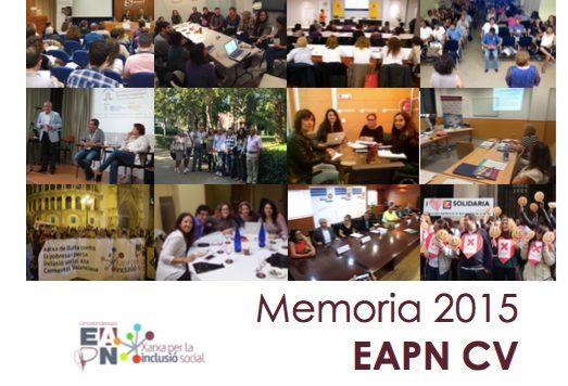 La EAPN CV incrementó su participación un 21 por ciento durante 2015