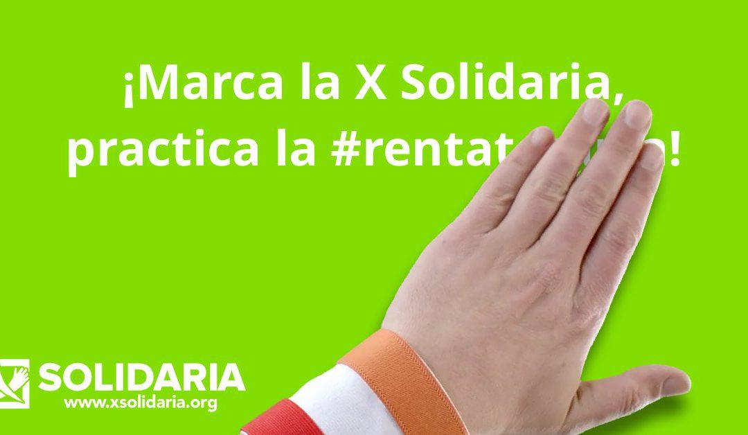 El #5A presentamos la campaña XSolidaria para la #Renta2016