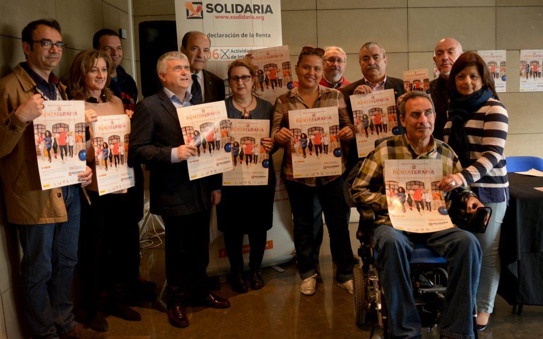 Las entidades sociales alientan a l@s valencian@s a marcar la 'X Solidaria' en la renta