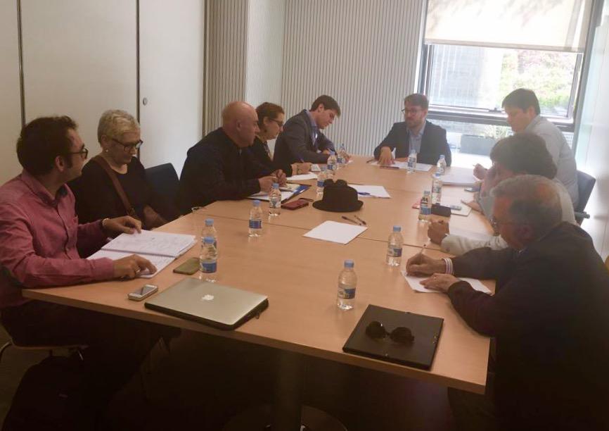 La Plataforma del Tercer Sector se reúne con Alberto Ibáñez para tratar la gestión del 0,7 del IRPF