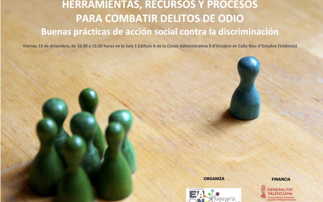 EAPN CV analiza herramientas, recursos y procesos para combatir delitos de odio