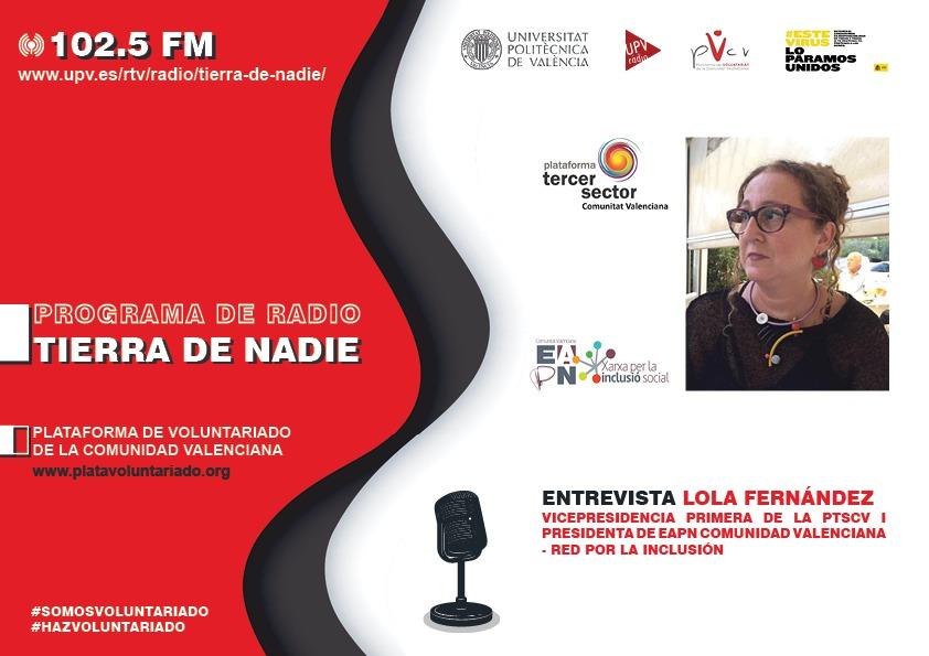 Lola Fernández pide mayor cobertura de la Renta Valenciana de Inclusión para paliar la emergencia social de la COVID-19