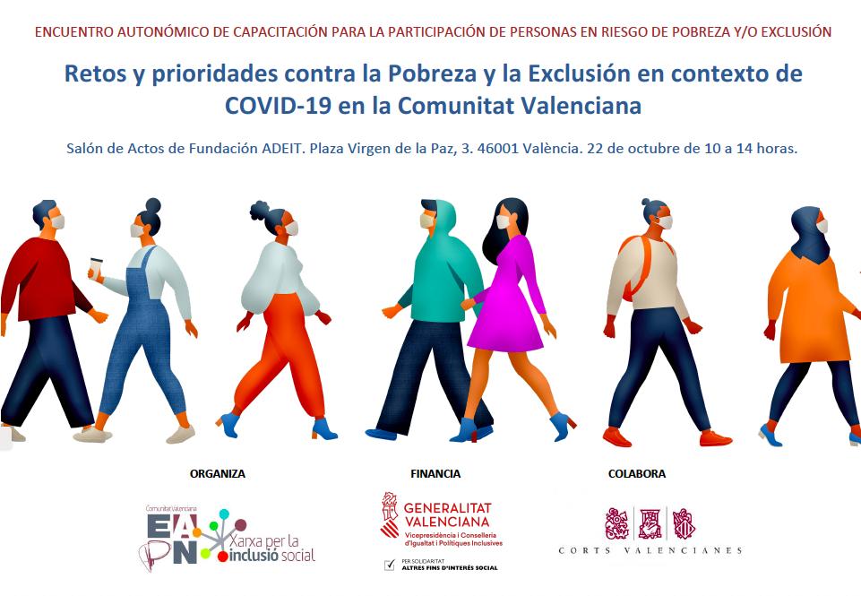 EAPN CV analiza retos y prioridades de personas afectadas por la pobreza en contexto de la COVID-19