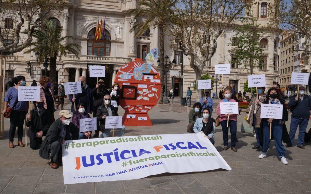València planta una falla en 2021 para pedir la erradicación de los paraísos fiscales