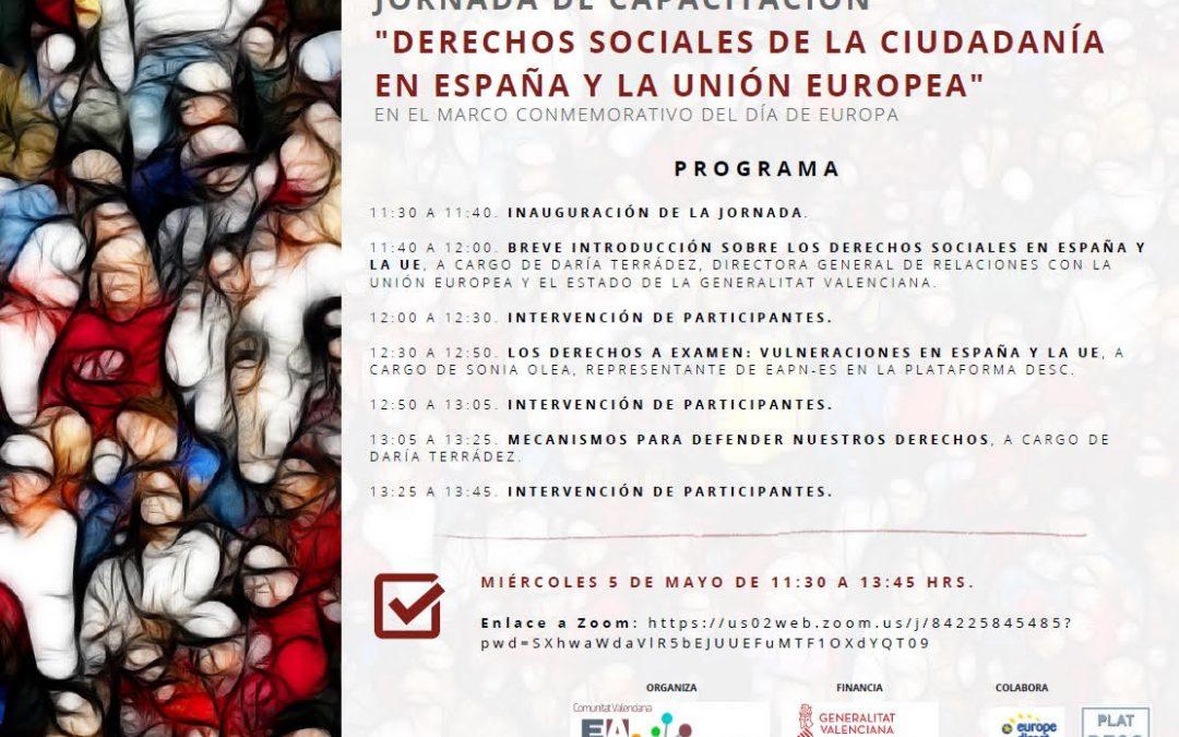 Derechos sociales en España y la Unión Europea a examen