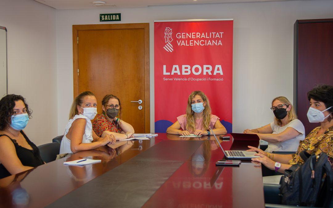La EAPN C.Valenciana y el LABORA abordan mecanismos para mejorar la inserción socio-laboral de personas en riesgo de exclusión