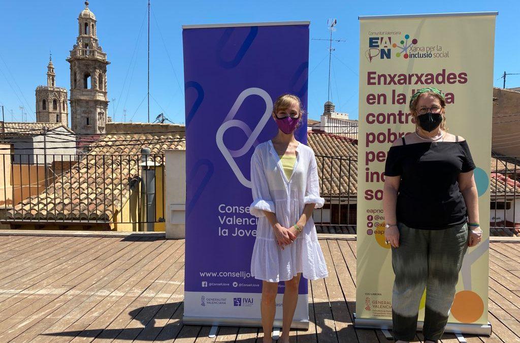 La EAPN CV y el Consell Valencià de la Joventut promoverán una gobernanza inclusiva con la juventud en riesgo de pobreza y exclusión en la Comunitat Valenciana